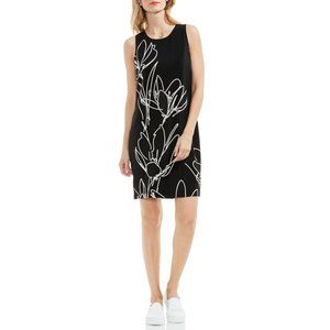 NWT Size 4 Vince Camuto Fluent Cluster Shift Dress
